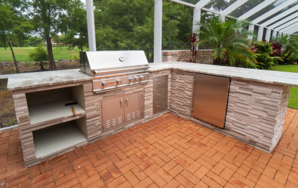 Residential Outdoor Kitchen Project